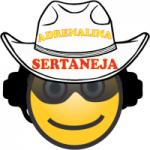 Logo da emissora Adrenalina Sertaneja Web Rádio