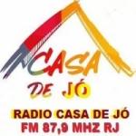Logo da emissora Rádio Casa de Jó