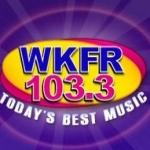 Logo da emissora WKFR 103.3 FM