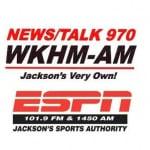 Logo da emissora WKHM 1450 AM
