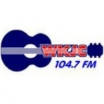 Logo da emissora WKJC 104.7 FM