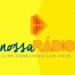 Logo da emissora Nossa Web Rádio Natal
