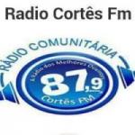 Logo da emissora Rádio Nova Cortês 87.9 FM
