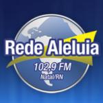 Logo da emissora Rádio Rede Aleluia Natal 102.9 FM