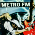 Logo da emissora Rádio Metrô FM