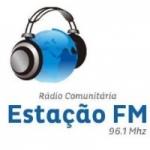 Logo da emissora Rádio Estação 96.1 FM