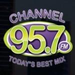 Logo da emissora WLHT 95.7 FM