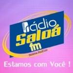 Logo da emissora Rádio Saloá FM