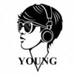 Logo da emissora Rádio Young
