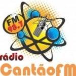 Logo da emissora Radio Cantão 98.7 FM