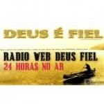 Logo da emissora Rádio Web Deus Fiel