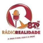Logo da emissora Rádio Realidade 87.9 FM