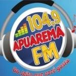 Logo da emissora Rádio Apuarema 104.9 FM