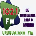 Logo da emissora Rádio Uruguaiana 102.1 FM