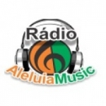 Logo da emissora Rádio Aleluia Music