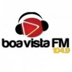 Logo da emissora Rádio Boa Vista 104.9 FM