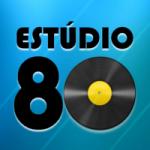 Logo da emissora Rádio Estúdio 80