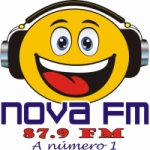Logo da emissora Rádio Nova Tocantínia 87.9 FM