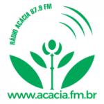 Logo da emissora Rádio Acácia 87.9 FM