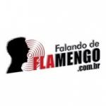 Logo da emissora Falando de Flamengo