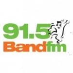 Logo da emissora Rádio Band 91.5 FM