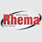 Logo da emissora Rádio Rhema