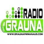 Logo da emissora Rádio Graúna FM