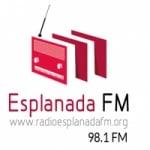 Logo da emissora Rádio Esplanada FM