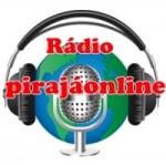 Logo da emissora Rádio Pirajá Online