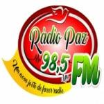 Logo da emissora Rádio Paz 98.5 FM