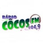 Logo da emissora Rádio Côcos 104.9 FM