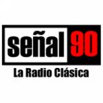 Logo da emissora Radio Señal 90.7