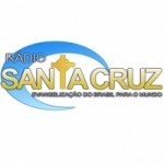 Logo da emissora Santa Cruz Web Rádio