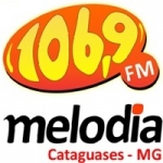 Logo da emissora Radio Melodia 106.9 FM