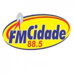 Logo da emissora Rádio Cidade 88.5 FM