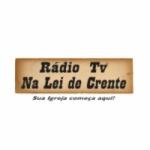 Logo da emissora Rádio Web Na Lei de Crente