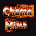 Logo da emissora Rádio Chama Viva