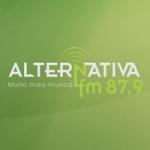 Logo da emissora Rádio Comunitária Alternativa 87.9 FM