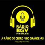 Logo da emissora Rádio Web BGV FM