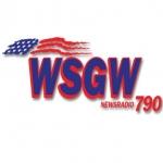 Logo da emissora WSGW 790 AM
