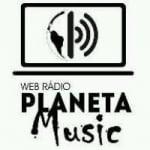 Logo da emissora Rádio Planeta Music