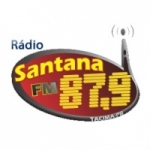 Logo da emissora Rádio Comunitária Santana 87.9 FM
