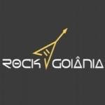 Logo da emissora Rádio Rock Goiânia