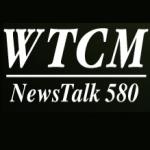 Logo da emissora WTCM 580 AM
