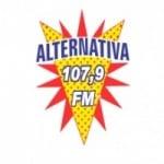 Logo da emissora Rádio Alternativa 107.9 FM