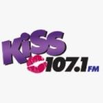 Logo da emissora WTLZ 107.1 FM Kiss