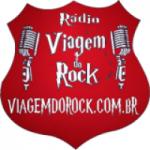Logo da emissora Viagem do Rock