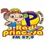 Logo da emissora Rádio Princesa do Brejo 87.9 FM