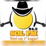 Logo da emissora Rádio Sol 94.5 FM