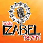 Logo da emissora Rádio Izabel 98.7 FM